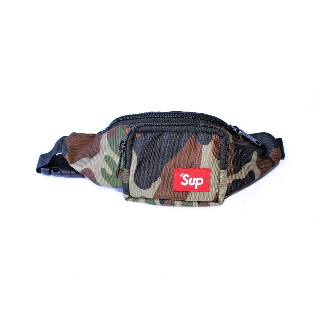 60c8ee0676f Let's Kids – 'Sup Fanny Pack Forest Camo – Presidio Camp